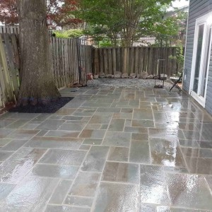 Modular Thermal Flagstone Patio